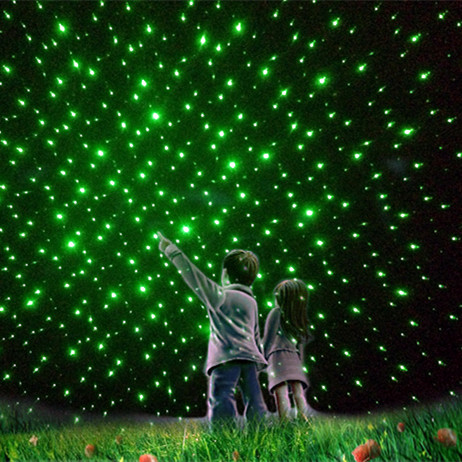 10mW Green Lazer Pointer with 5 Lenses For Starry Sky