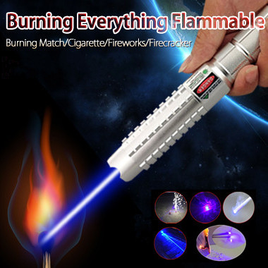 Multifunctional Attacking 1000mW 445nm Wavelength Blue Lazer Pointer