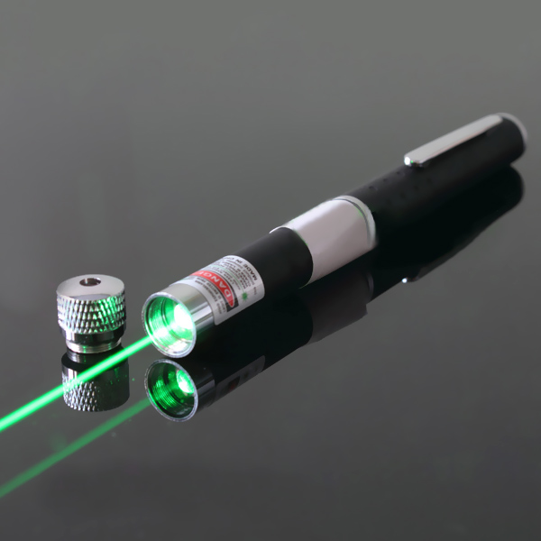 532nm Wavelength 50mW Green Lazer Pointers Pen 5 in 1