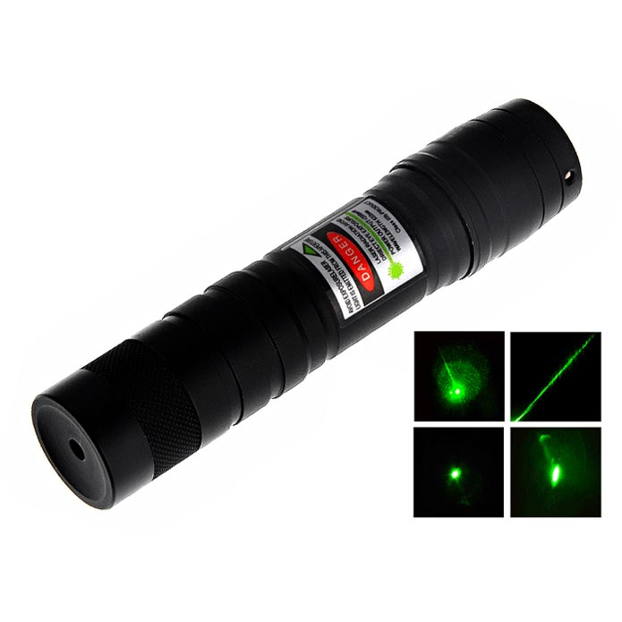 532nm 80mW Green Laser Pointer Visible Beam Light Mini Flashlight