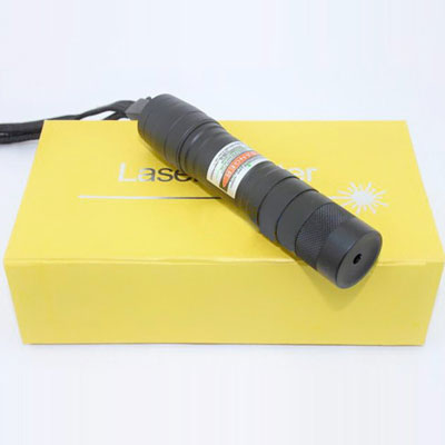 Cheap 100mW 405nm Wavelength Purple Laser Pointer Adjustable Mini Flashlight