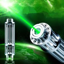 100mW 532nm Green Lasers Pointer with Gatling Minigun Shape