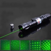 Cheap 5in1 Green Beam Laser Pointer 60mW Waterproof Laser Pen Stars