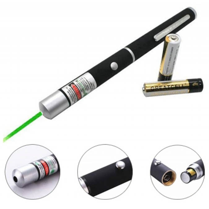 laser pointer for presentation